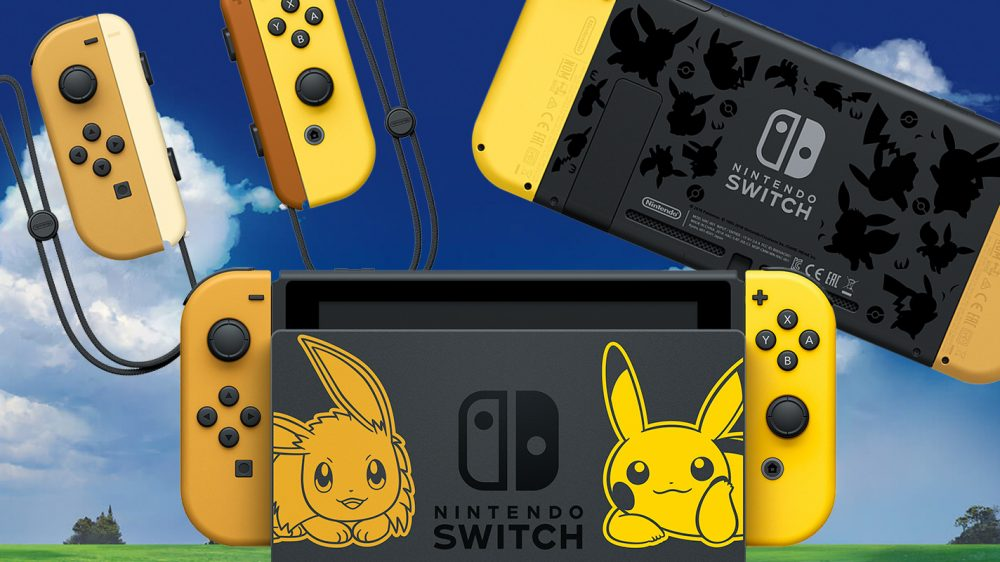 Nintendo Announces Switch Pikachu And Eevee Special Edition Hardware
