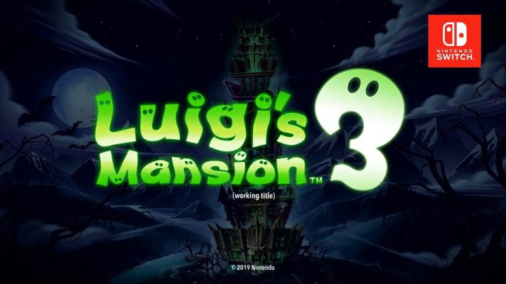Luigi's Mansion 3 coming to the Switch in 2019