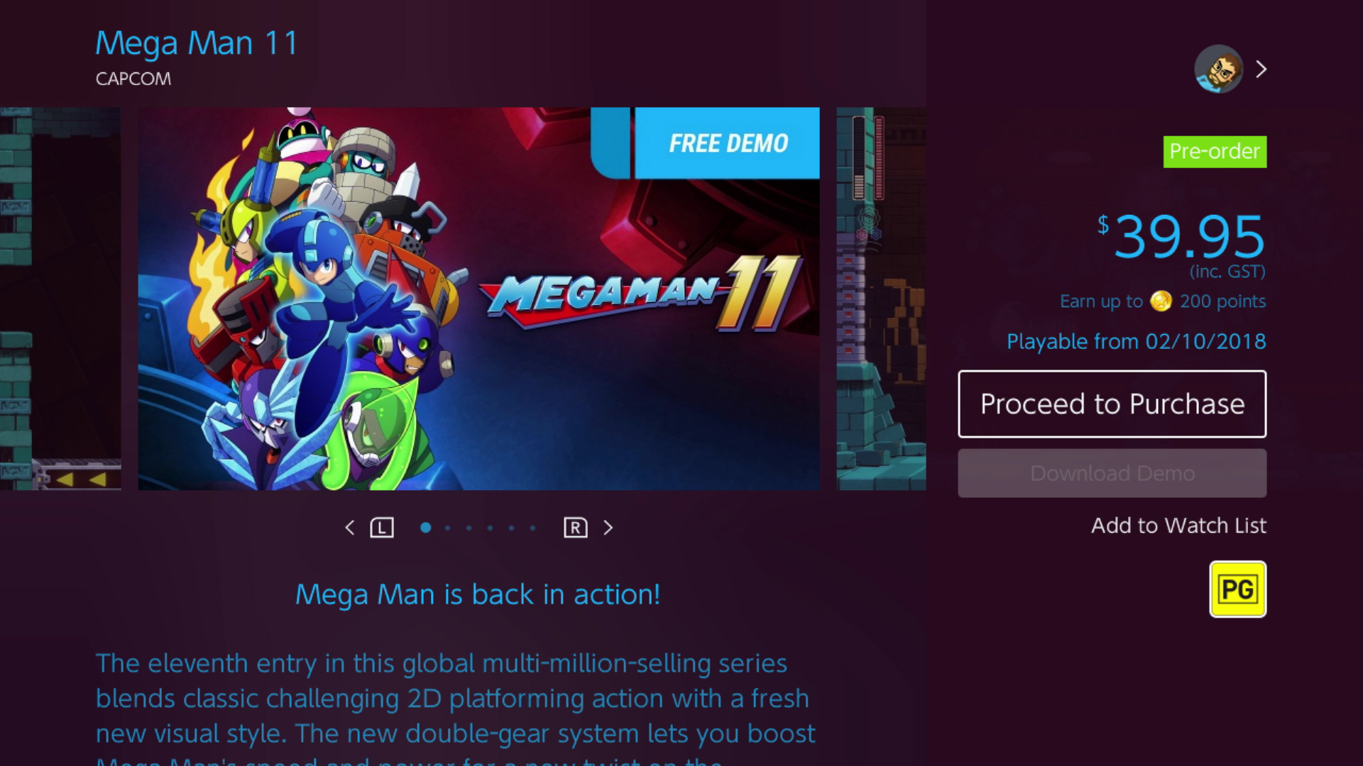Mega Man 11 demo now available on the Switch eShop - Vooks