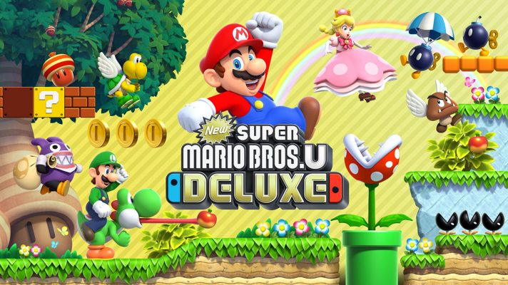 New Super Mario Bros. U Deluxe's A button spin jump can be turned off