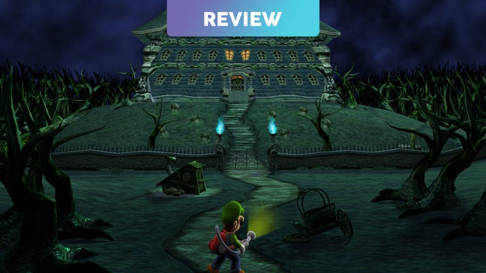 Luigi S Mansion 3ds Review Vooks