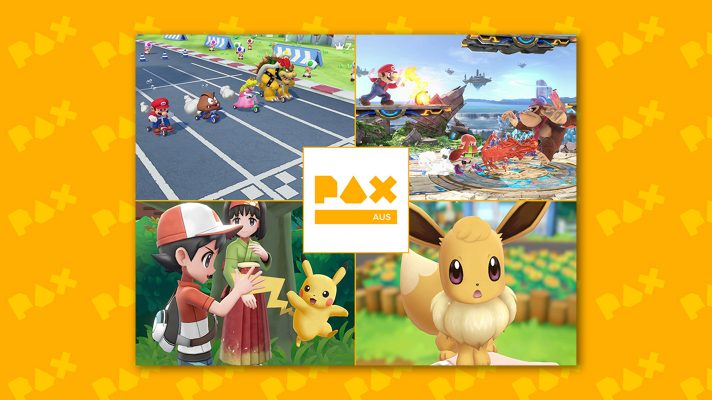 Pokémon: Let's Go and Super Smash Bros Ultimate will be playable at PAX Aus