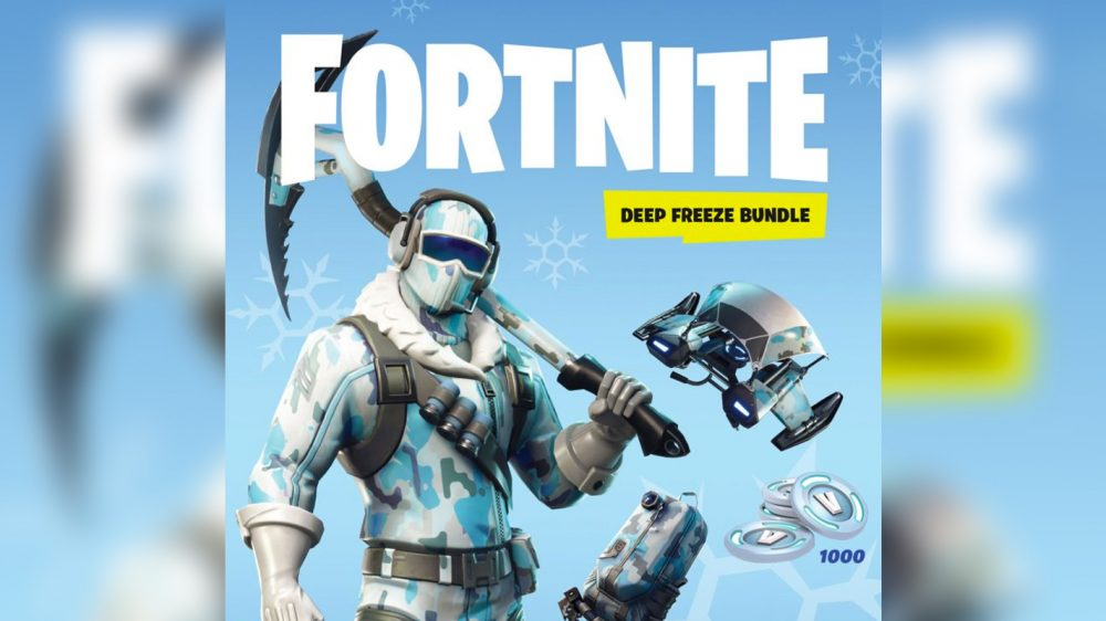 Fortnite goes physical* on Switch with Deep Freeze Bundle