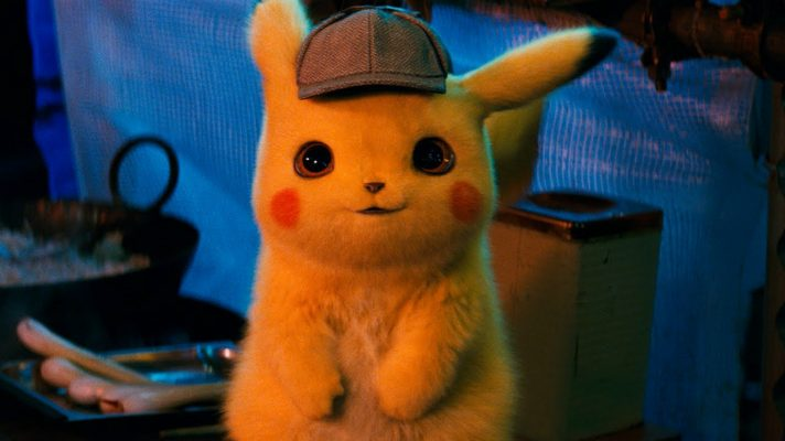 Here's the first trailer for the live action Detective Pikachu movie, coming 10 May 2019