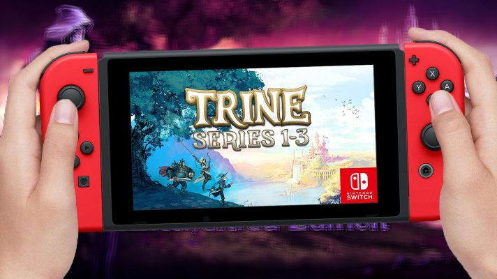 The Trine Trilogy is coming to Switch starting today