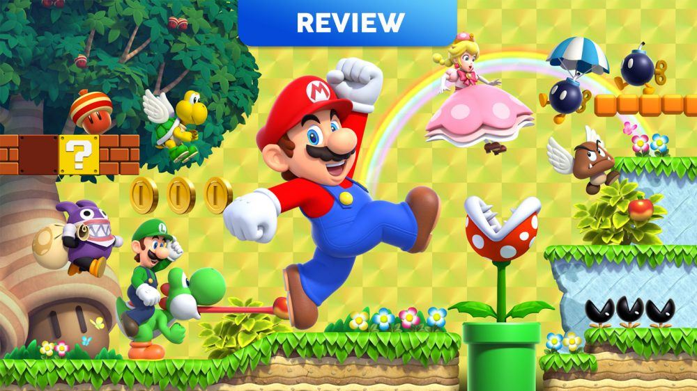 New Super Mario Bros  U Deluxe (Switch) Review - Vooks