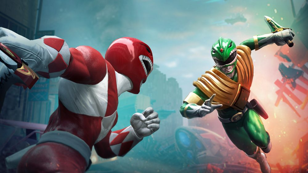 There's A New Power Rangers Fighting Game Coming This April