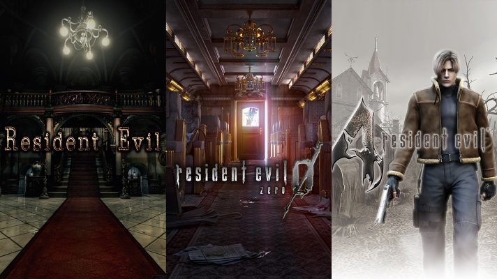 Resident Evil 0, 1 and 4 are coming to the Switch on May 21st