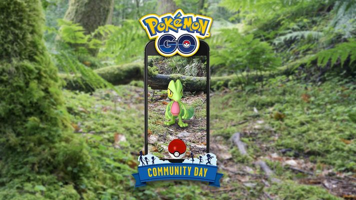 Reminder: Pokemon Go's Community Day for Treecko is today from 3pm