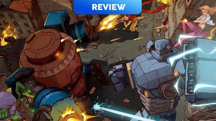 AngerForce: Reloaded (Switch eShop) Review