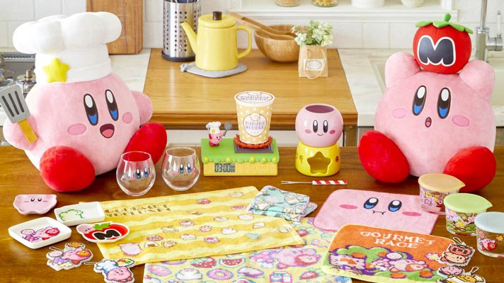 This Kirby Gourmet Deluxe Lottery has some amazing Kirby themed homewares