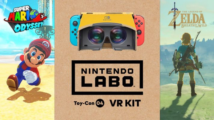 Breath of the Wild and Super Mario Odyssey getting VR modes with Labo
