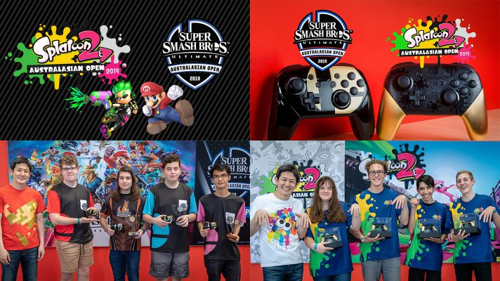 Splatoon 2 and Super Smash Bros. Ultimate Australasian Open Winners Crowned