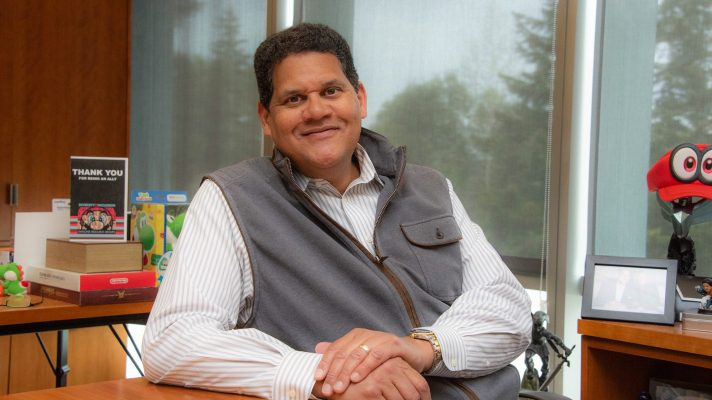 Reggie Fils-Aime finishes up at Nintendo, joins Twitter