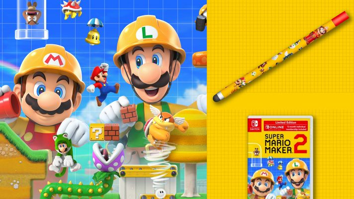 Super Mario Maker 2 'Limited Edition' confirmed for Australia as well as redeemable Stylus