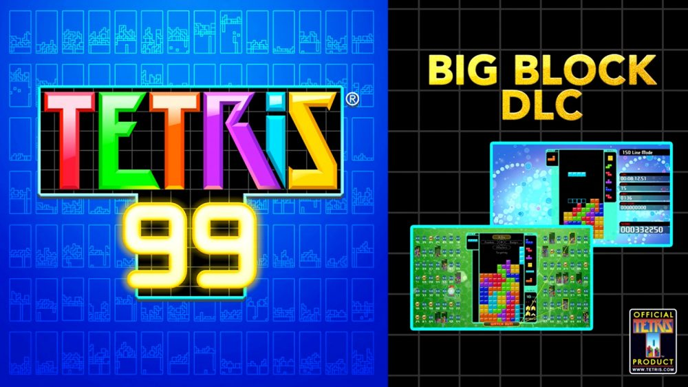 Play Tetris 99 offline with paid Big Block DLC season pass