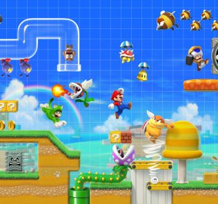 Game Center CX's Arino joins the costume party in Super Mario Maker