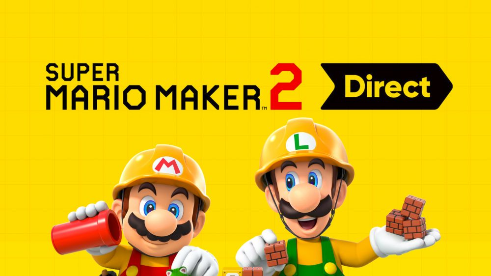 'Super Mario Maker 2' Nintendo Direct