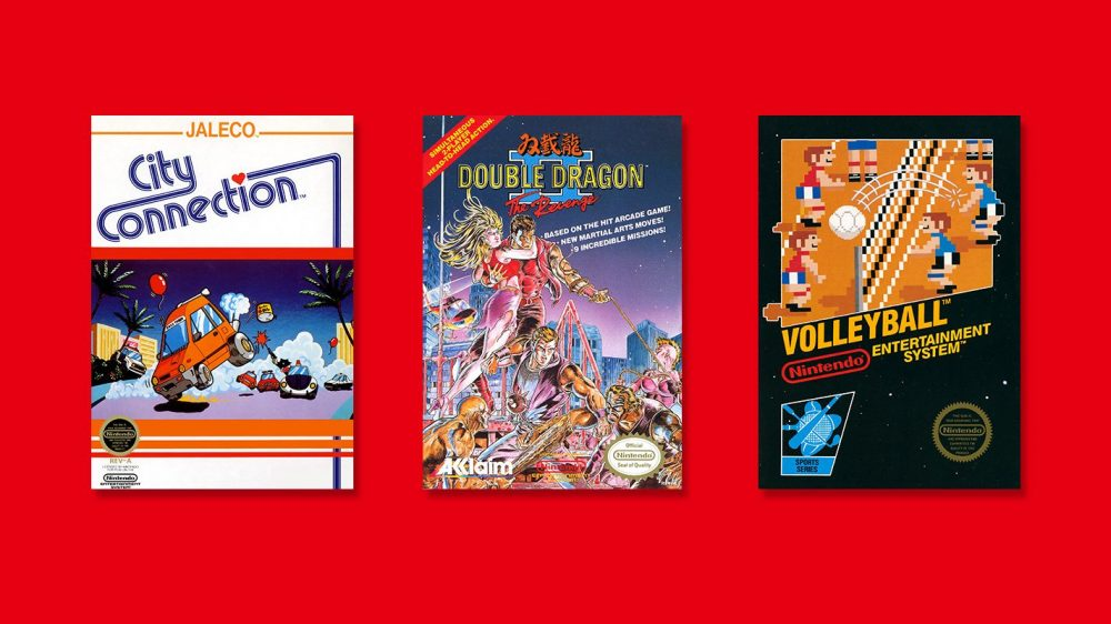 Double Dragon Ii The Revenge Volleyball And City Connection Are