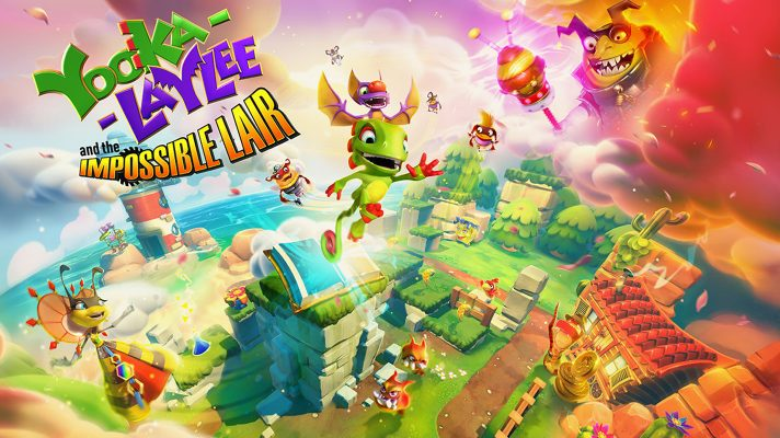 Yooka-Laylee and the Impossible Lair out October 8th, preorder discount available
