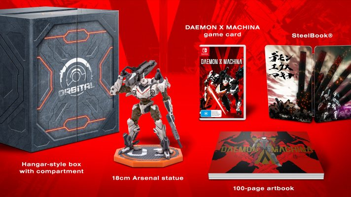Daemon X Machina Orbital Limited Edition coming to Australia