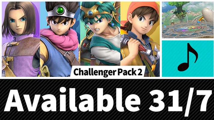 Dragon Quest's Hero arrives in Smash Bros. Ultimate on July 31st
