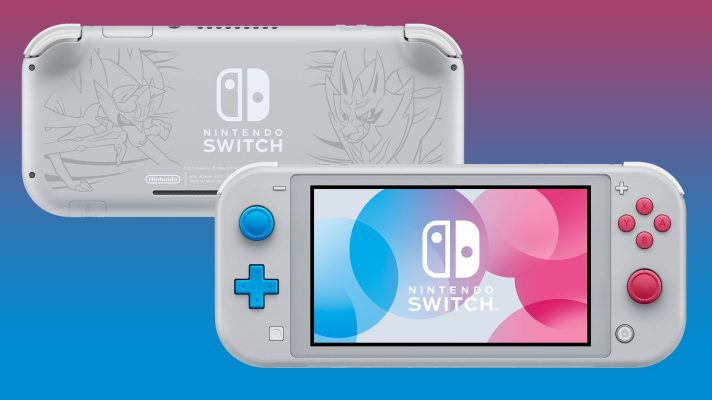 Pokémon Sword and Shield get a special edition Switch Lite console