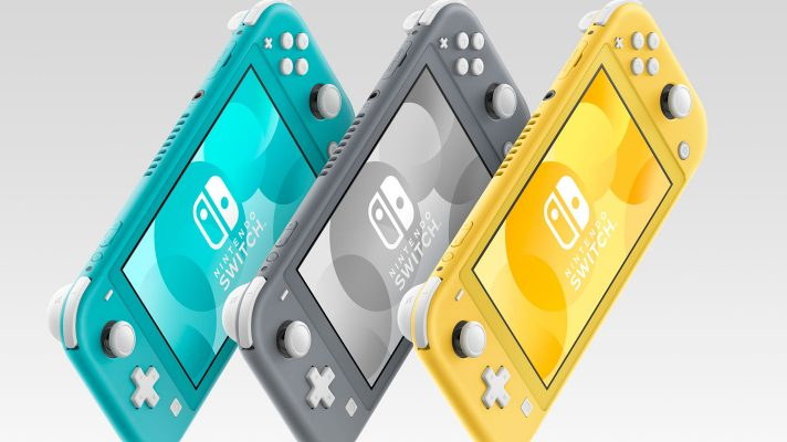 Nintendo Switch Lite revealed, $329.95, coming September 20th