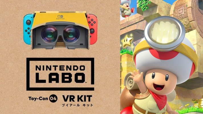 Captain Toad: Treasure Trackers gets Labo VR Support, unlimited 7-day trial for Online subscribers