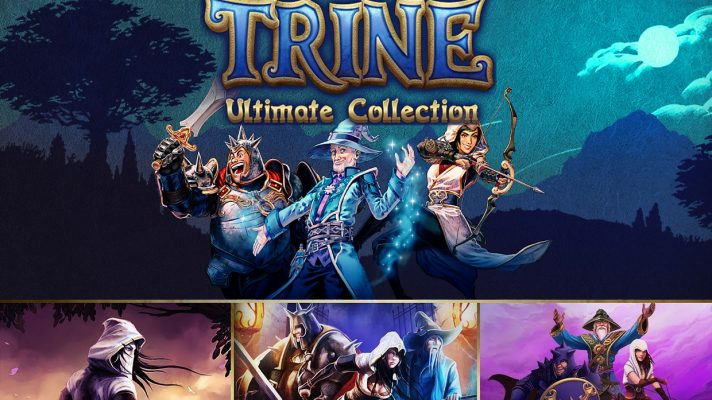The Trine Ultimate Collection is now coming to Switch