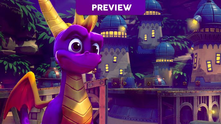Preview: Spyro Reignited Trilogy on Switch