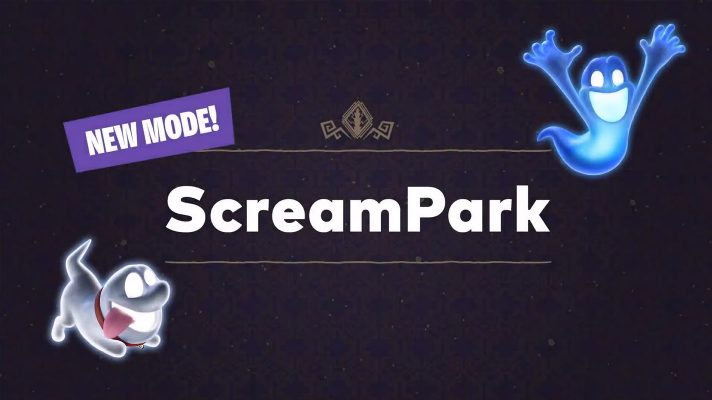 Enter the ScreamPark with up to 8 players in Luigi's Mansion 3