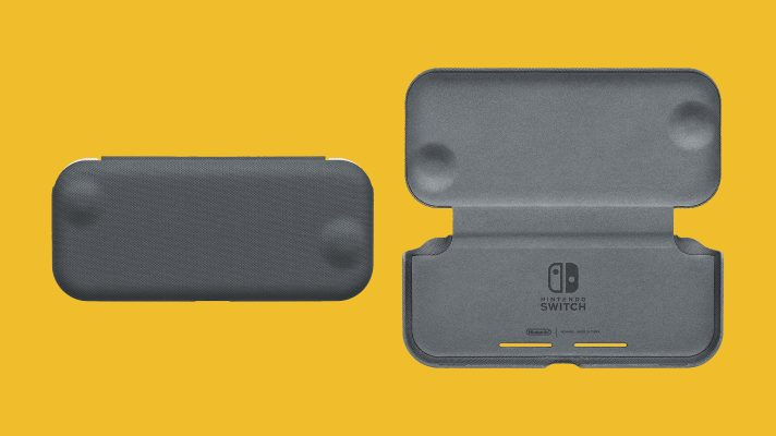 Nintendo Switch Lite Flip Cover releasing in Australia on December 6th, 2020 in the UK