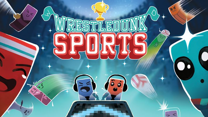 Wrestledunk Sports is the new arcade sports game for Switch by Hacknet dev