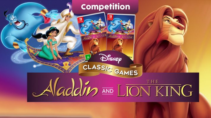Competition: Two copies of Disney Classic Games: Aladdin and The Lion King to giveaway