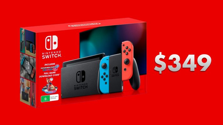 Bargain Alert: Amazon has a Switch + Mario Kart 8 Deluxe for $349 (Update: back to $374)