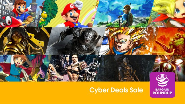 Bargain Roundup: Nintendo's Cyber eShop sale is now live, discounts up to 70%