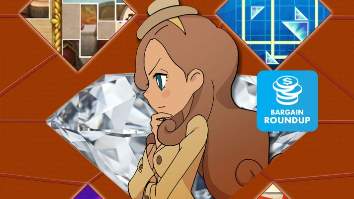 Aussie Bargain Roundup: Layton's Mystery Journey: Katrielle and the Millionaires' Conspiracy- Deluxe Edition