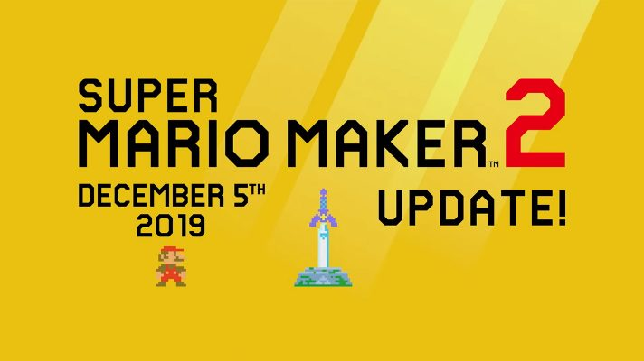 Master Sword coming to Super Mario Maker 2 in a huge update this week