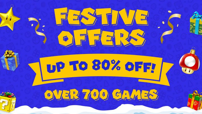 Nintendo will have a 'Festive Offers' sale on the eShop later this week