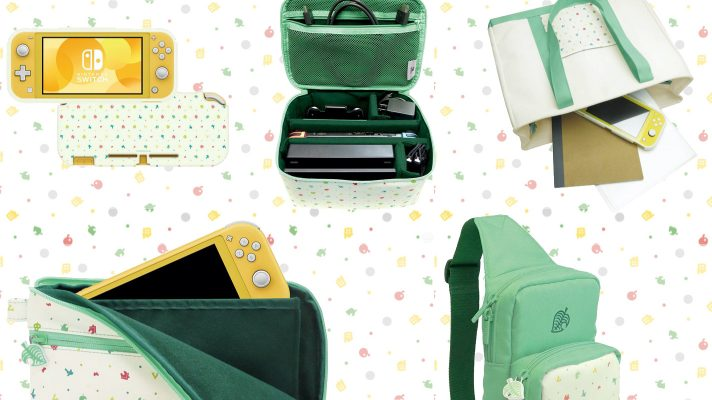 Hori announces new Animal Crossing: New Horizons goods for Switch this March