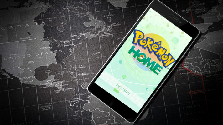 Pokémon HOME's friend trades are limited to nearby players