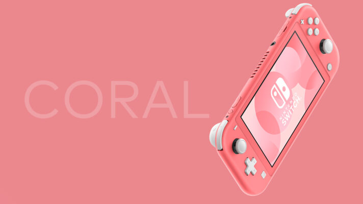 Switch Lite getting new Coral colour in Japan next month (Update)