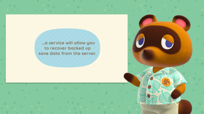 One time limit for Animal Crossing: New Horizons save data recovery if your Switch damaged or lost