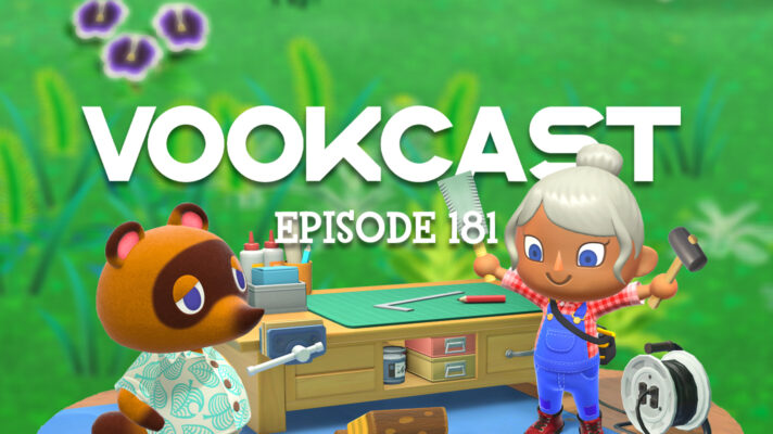 Vookcast #181 – What's New in Animal Crossing: New Horizons?