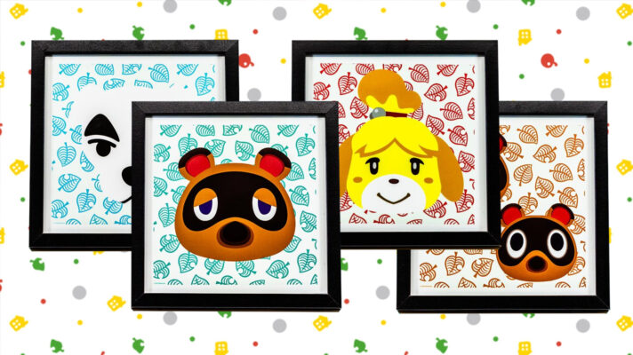 Playing Animal Crossing: New Horizons at Supanova and Anime Festival will net you a set of adorable prints