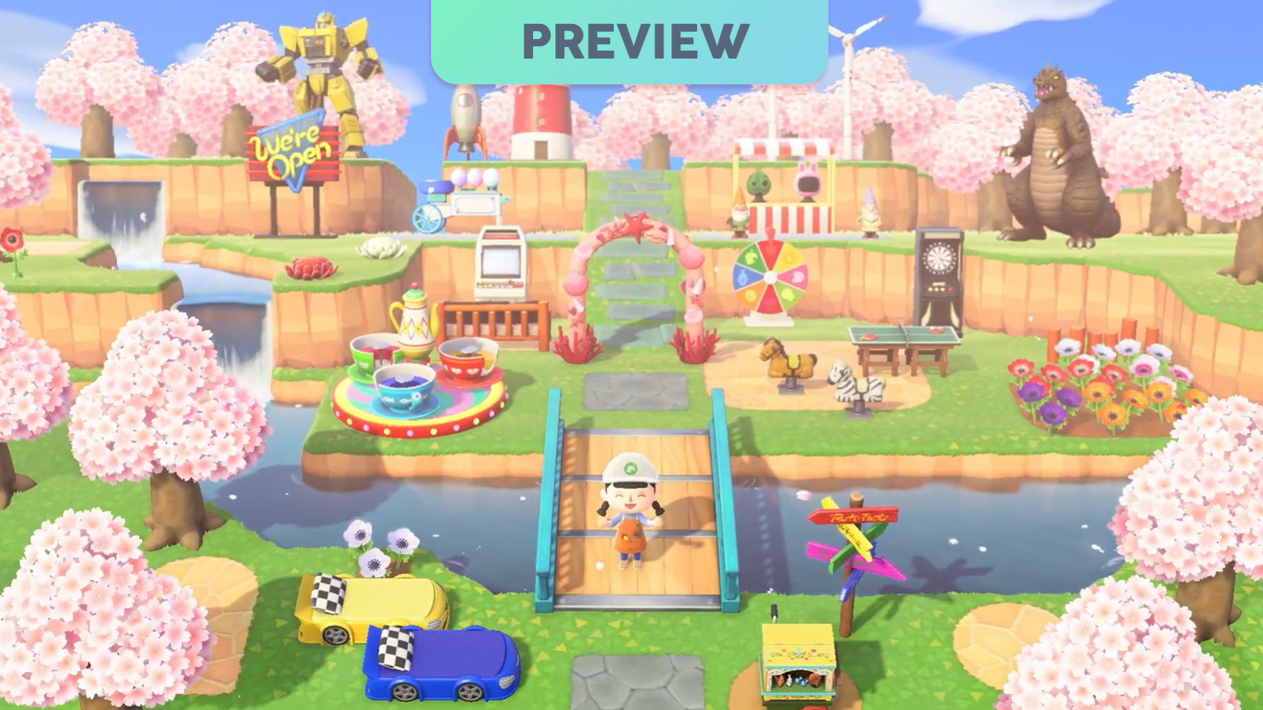 Checking Out Animal Crossing New Horizons A Preview Vooks