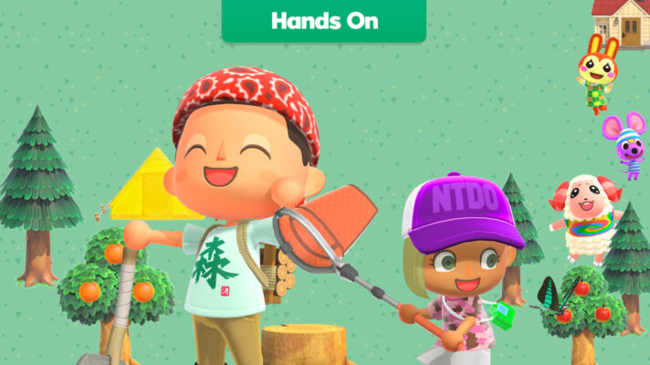 Hands-on with Animal Crossing New Horizons' Party Play mode