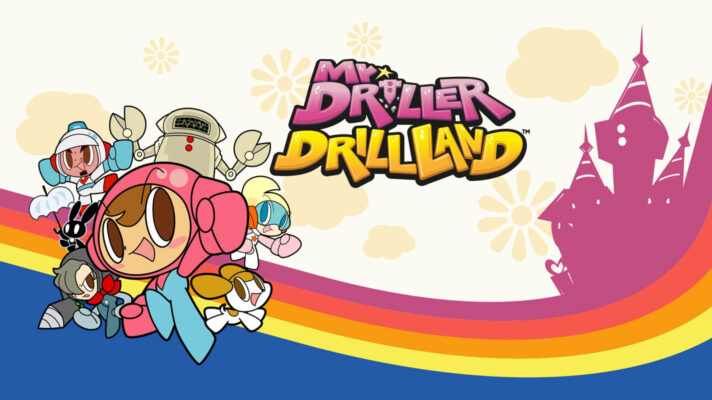 Mr. DRILLER DrillLand announced for Switch, coming June 25th