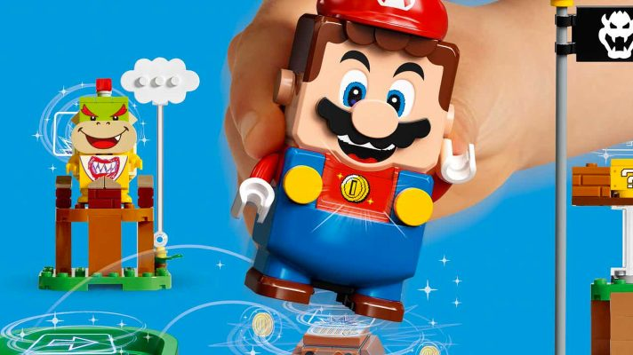 Here's your first look at the new LEGO Super Mario experience